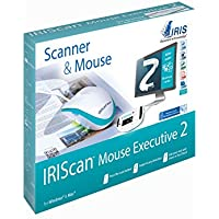IRISCan Mouse Executive 2 USB Portable Mobile Document Image Handheld Mouse and Color Scanner