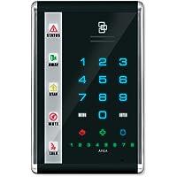 Interlogix NetworX Advanced Touch LED Keypad, Portrait, Black (NX-1812E)