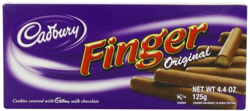 Cadbury Fingers Milk, 4.02 Ounce