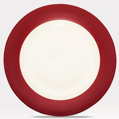 Colorwave Rim Round Platter Color: Raspberry