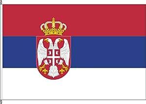 Bandera de auto Bandera Serbia (Estado Bandera)–30x 45cm