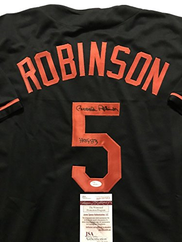 Autographed/Signed Brooks Robinson Inscribed