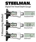 Steelman Digital Tire Tread Depth Gauge, 3 Modes
