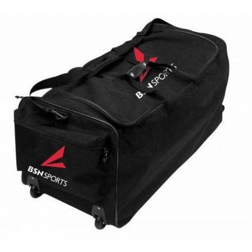 (BSN Sports Wheeled Deluxe EQ Bag-BK)