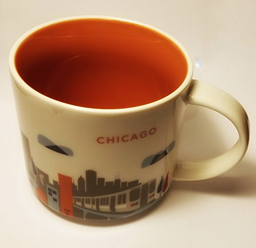 Starbucks You Are Here (Yah) Chicago Stackable Mug Latest Release