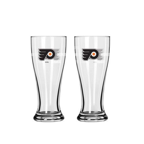 Boelter Brands NHL Philadelphia Flyers Mini Pilsner, 2.5-ounce, - Flyers Nhl Philadelphia Mini