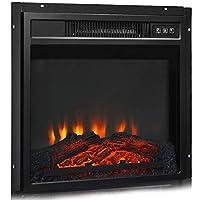 Tangkula Electric Fireplace Heater, Free...