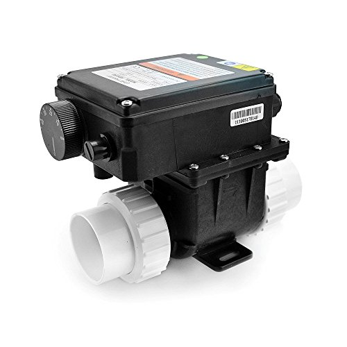 AQUADE Heizung Whirlpool Whirlpoolheizung SPA Durchlauferhitzer CE + TÜV Zertifiziert 3 KW Modell: 3 KW
