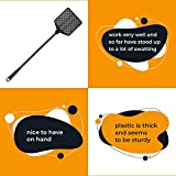 OFXDD Rubber Fly Swatter, Long Fly Swatter