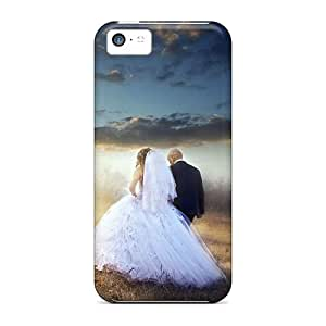 GFV29974LveR Cases Covers Protector For Iphone 5c Artistic Shot Of A Bride And A Groom Cases