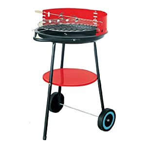 41d0FbgMyKL. SS300  - Hamble Distribution ltd BB-BBQ211 Barbecue, Black and red