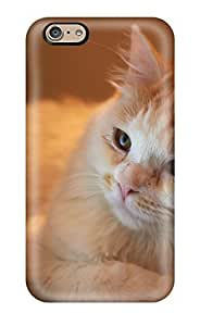 ChrisWilliamRoberson Perfect Tpu Case For Iphone 6/ Anti-scratch Protector Case (cat Looking At Laptop)