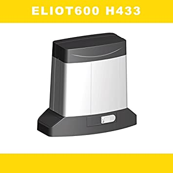 Motor puerta corredera profesional uso residencial o comunitario MEDVA ELIOT 600kg con central electronica y receptor de radio, con excelente sistema antiaplastamiento .: Amazon.es: Bricolaje y herramientas
