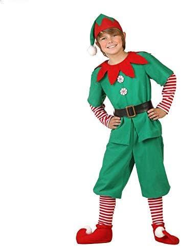 Disfraz de Duende de Navidad para Hombres, Mujeres y niños Navidad ...