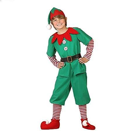 thematys® Disfraz de Duende de Navidad para Hombres, Mujeres ...