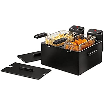 Princess - Double black fryer freidora 2x3l 2x1800w: Amazon.es: Informática