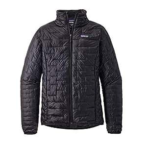 Amazon Com Patagonia Women S Micro Puff Jacket Black Size