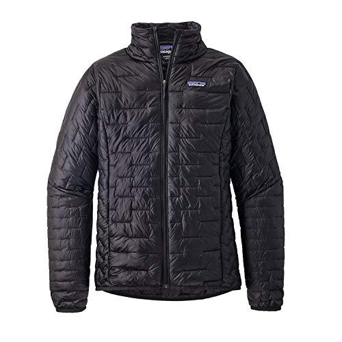 Patagonia Women's Micro Puff Jacket Black Size M