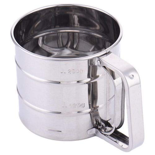 Gogil Stainless Steel Mesh Flour Icing Sugar Sifter - Silver by Gogil