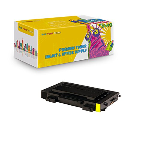 New York TonerTM New Compatible 1 Pack CLP-510D5Y High Yield Toner For Samsung - CLP-510N | CLP-510NG . -- Yellow ()