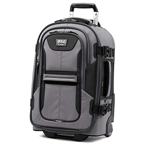 Travelpro Bold Expandable Rollaboard, Gray/Black