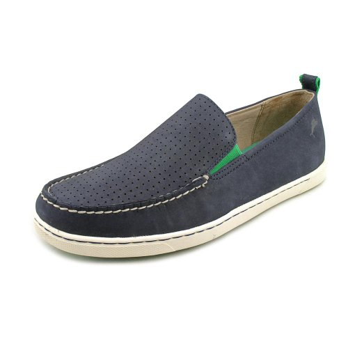 04e7d917a88da1 Tommy Bahama Hendry Mens Blue Nubuck Leather Loafers Shoes - Buy Online in  UAE.