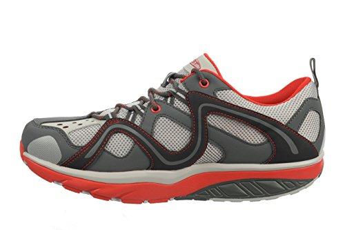 MBT Herren Taraji M Lace Up Schuhe LENS GRAY / VOLCANO GRAY