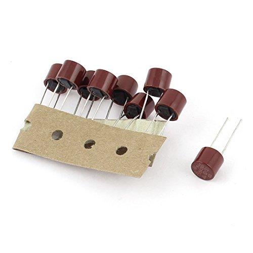 DealMux 10 Pcs T3.15A 3.15A 250V TR5 5TR Miniatura Micro fus/ível Slow Blow