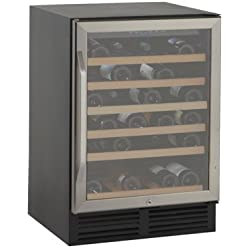 Avanti WCR506SS 50 Bottle Wine Cooler, Stainless Steel