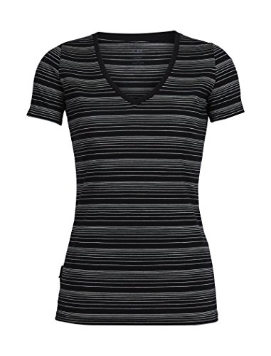 Icebreaker Merino Women's Tech Lite Short Sleeve V for sale  Delivered anywhere in USA