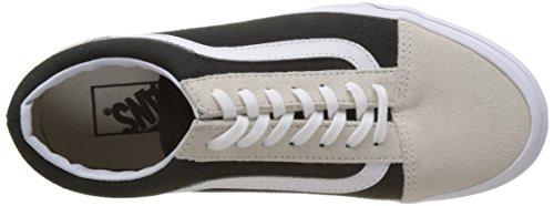 Noir Skool Vans Chaussures Unique tone Femme Running Old de Taille Bleu 2 1xFqwx7fz