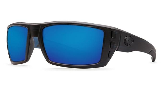 df2516979b Amazon.com  Costa Del Mar Rafael 580G Black Teak  Blue Polarized ...