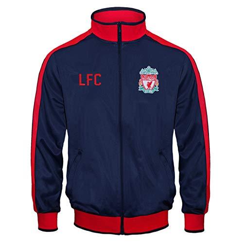Liverpool FC – Chaqueta de Entrenamiento Oficial – para niño – Estilo Retro