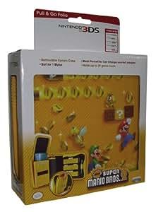 PDP - Bolsa Pull And Go Folio Super Mario 2 (Nintendo 3DS XL)
