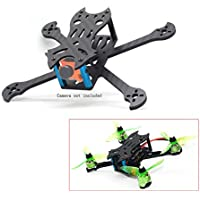 usmile FlyFox No.7 Sharp Claw 135mm Unibody Micro Carbon Fiber Quadcopter Frame Kit Mini quad fpv racing drone with 3mm Arm support for Runcam Micro Swift FPV camera