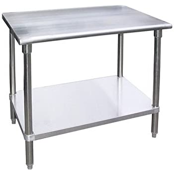 Amazon Com Work Table Stainless Steel Food Prep
