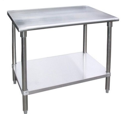 WORK TABLE WITHWITHOUT CASTERS WHEELS STAINLESS STEEL FOOD PREP - 30 x 60 stainless steel work table
