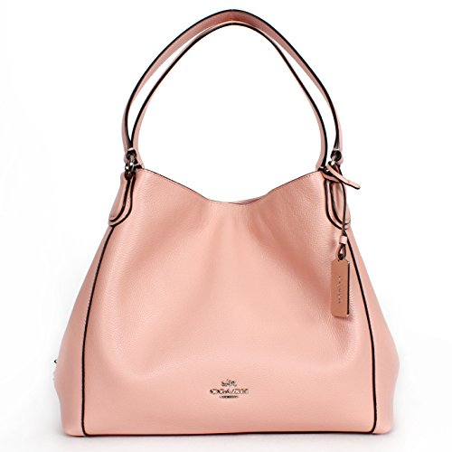 Coach Women's Refined Pebble Leather Edie 31 Shoulder Bag ()