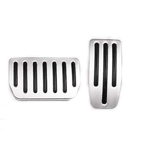 formance Accelerator & Brake Aluminum Pedal Covers Pads for Tesla Model S and Model X (A Set of 2) ()