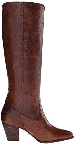 para Tall Botas de mujer Cognac Frye Renee 72069 costuras con Fw7Pxf