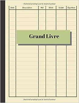 Amazon Fr Grand Livre Comptes De Livre De Caisse Journal