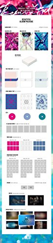 MONSTA X-[BEAUTIFUL] 1st Album BEAUTIFUL VER. CD+Photobook+Lyrics Booklet+PhotoCards+Stickers+Paper SEALED