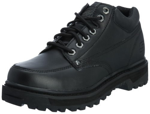Skechers Usa Mens Mariner Utility Boot Zwart