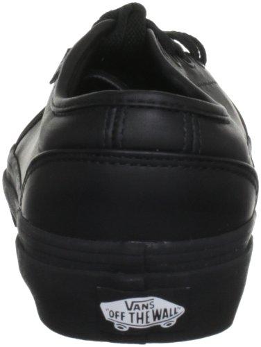 Vans 106 Vulcanized - Zapatillas de skate de cuero unisex negro - negro