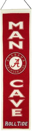NCAA Alabama Crimson Tide Man Cave Banner