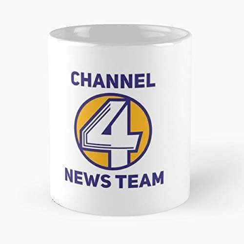 Anchorman Channel 4 News Team Ron Burgundy - Best Gift ...