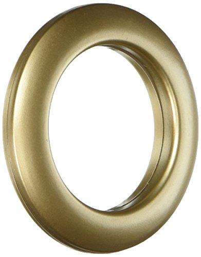 Gold Grommets (Dritz 1-9/16-Inch Inner Diameter Curtain Grommets, 8-Pack, Matte)