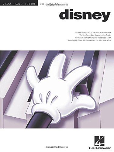 - Disney - Jazz Piano Solos Series Volume 16