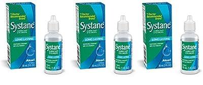 Systane Lubricant Eye DmnOL Drops - 1 Ounce (3 Pack) XLdWO