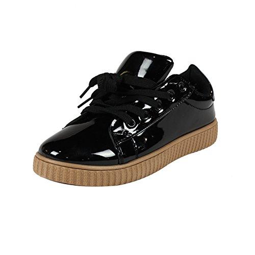 (Yoki I Yokids Fashion Sneaker (1, Metallic)